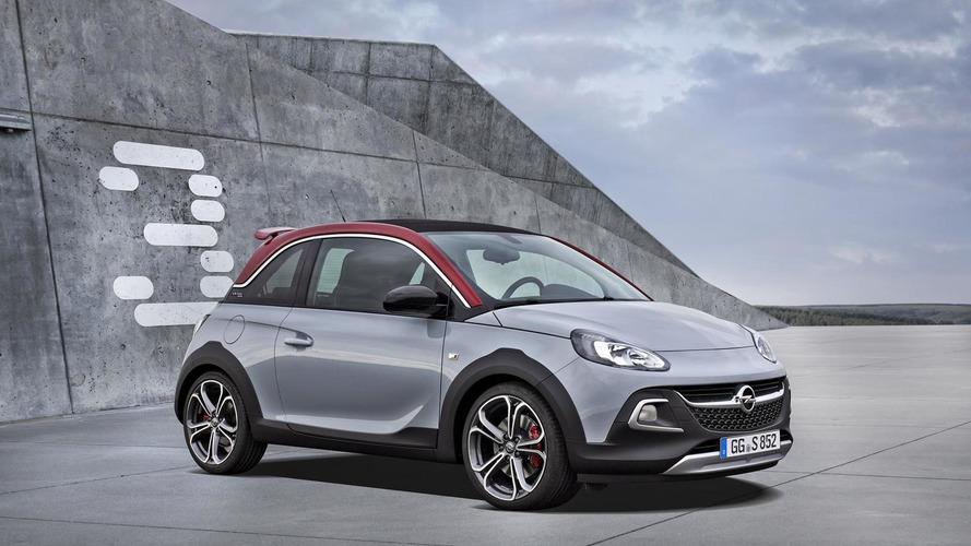 Opel Adam Rocks S debuts with 150 HP