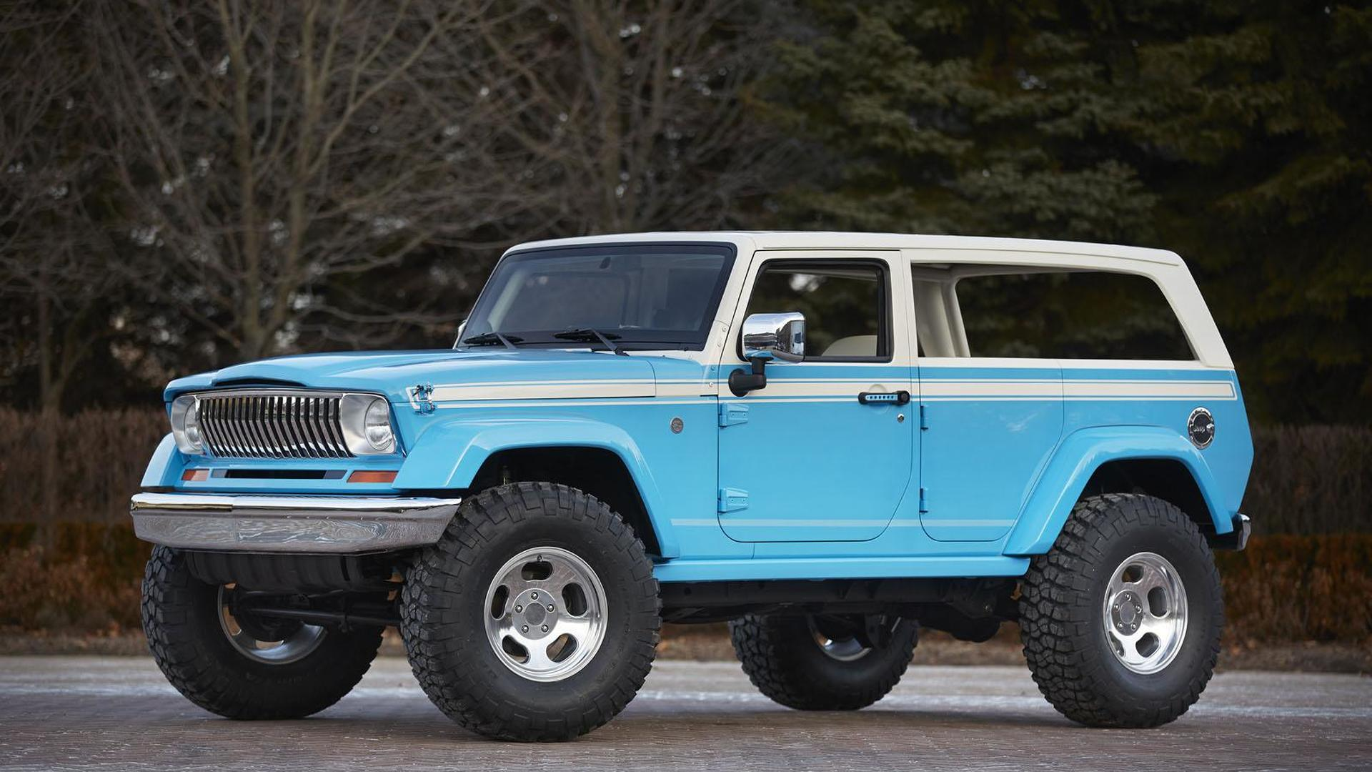 Jeep Unveils Seven New Concepts For The 2015 Moab Easter