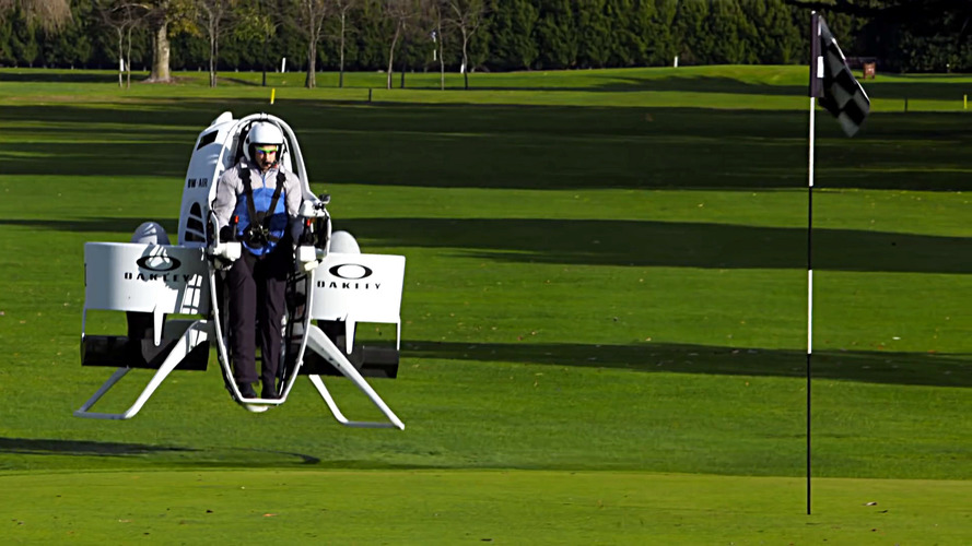 Golf cart jetpack is a game changer
