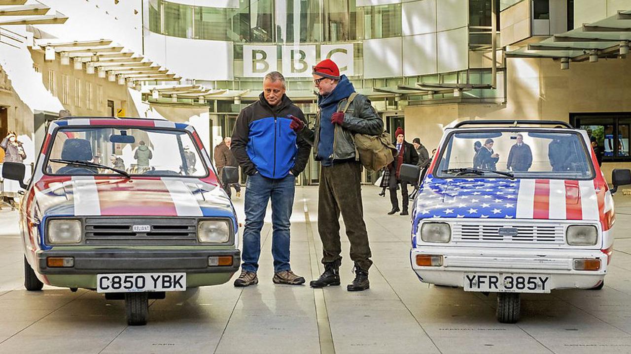 Chirs Evans and Matt LeBlanc