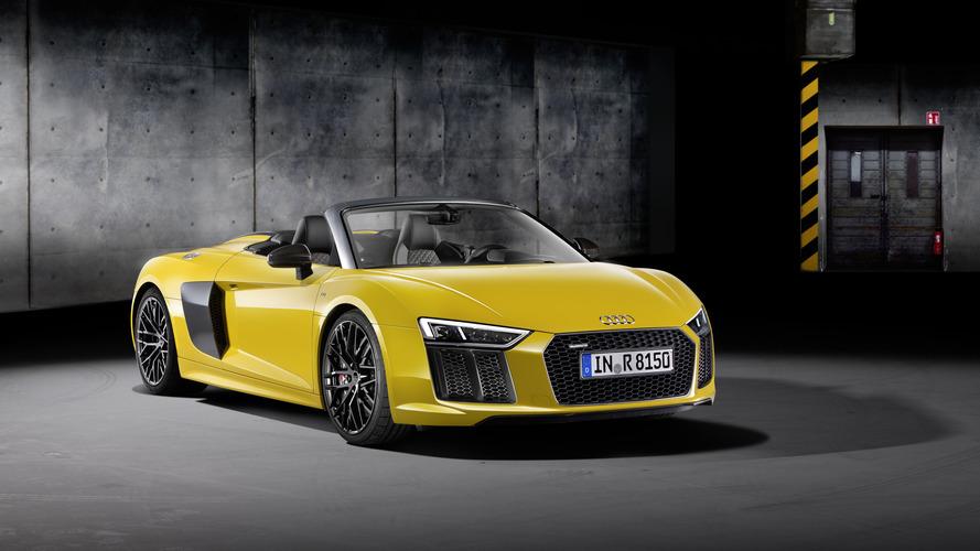 Audi R8 Spyder- Disponible à partir de 184'000 euros