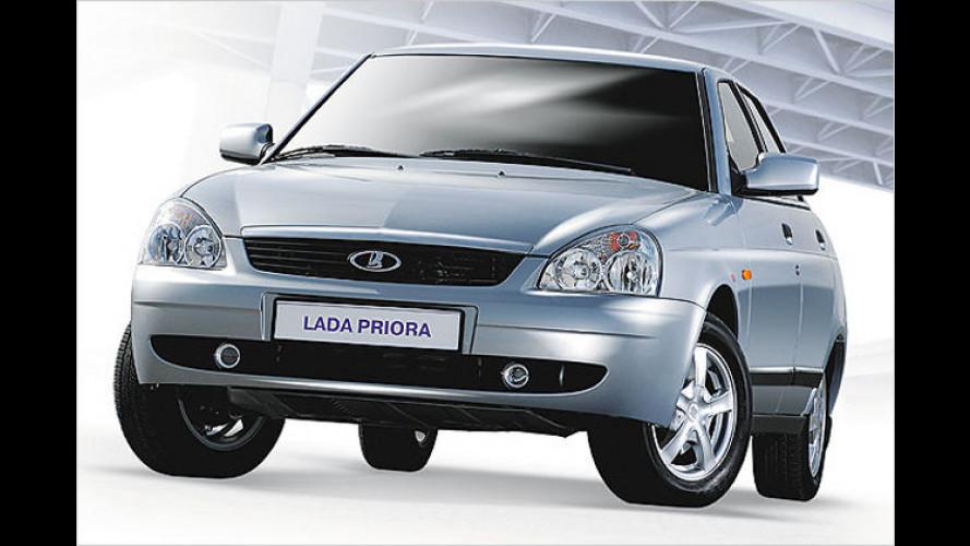 Lada Priora: Der neue Russe ist ab sofort erhältlich