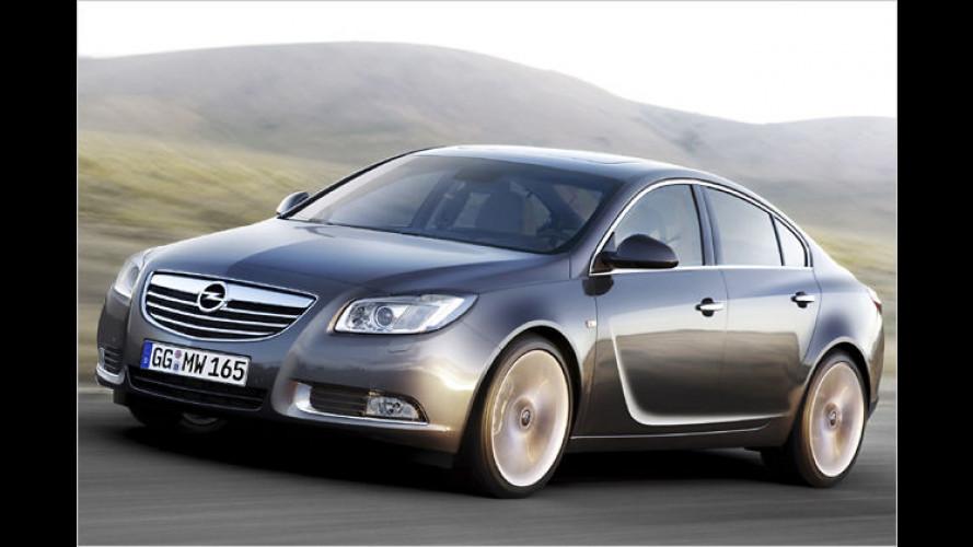 Opel Insignia geht mit attraktiven Preisen in den Verkauf