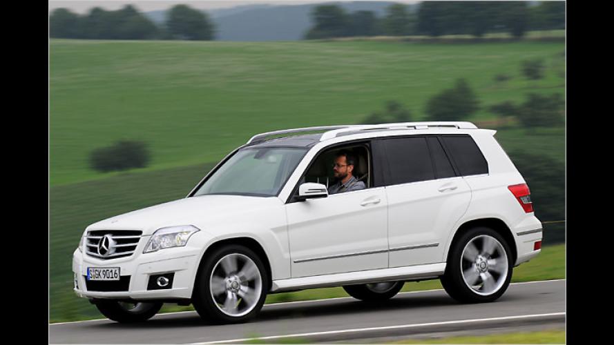 Mercedes GLK: Ein SUV für die Leute mit Möglichkeitssinn
