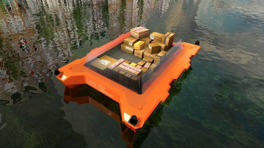 Logistica acquatica a timone autonomo