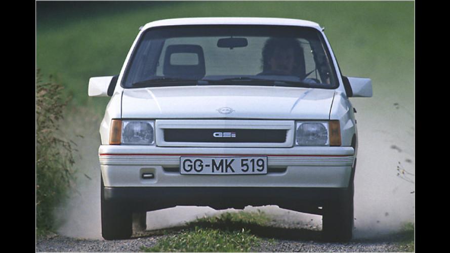 25 Jahre Opel Corsa in Bildern: Von Grafen und Queens
