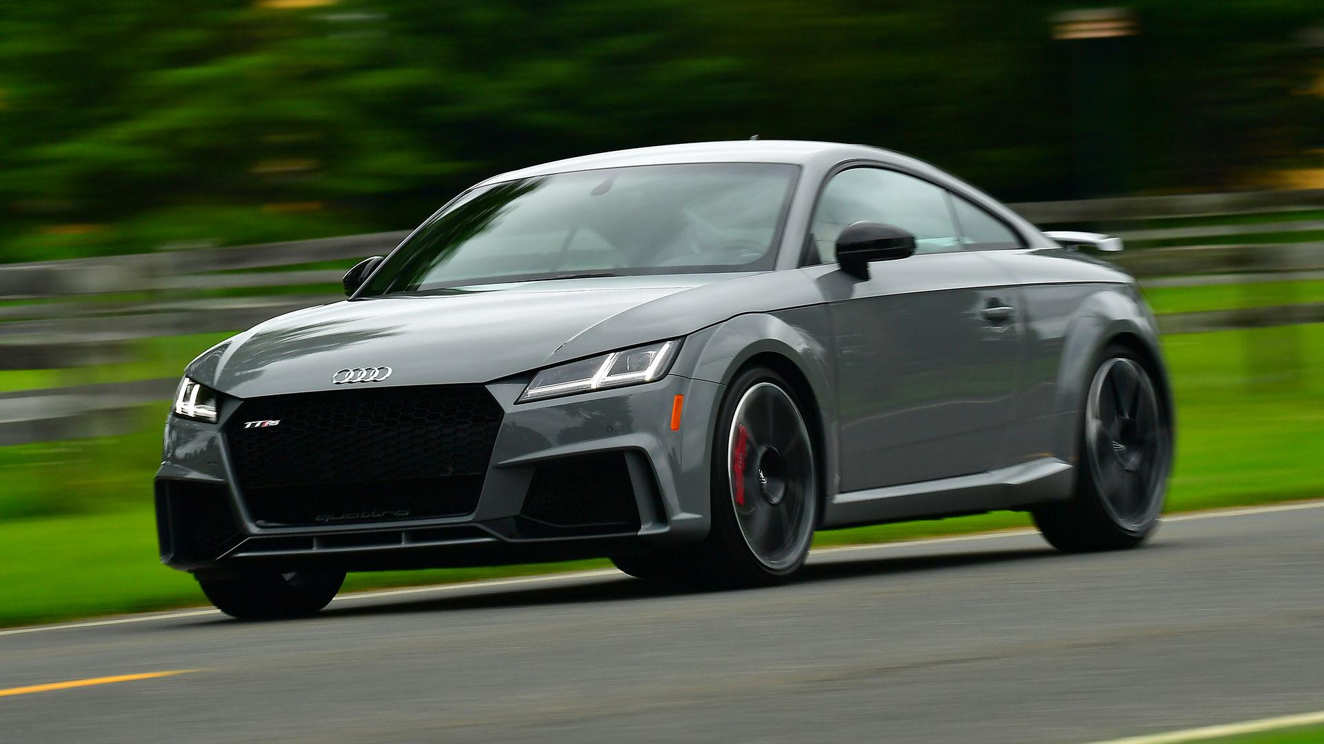 Audi TT RS First Drive The Most Thrilling TT Yet - 2018 audi tt