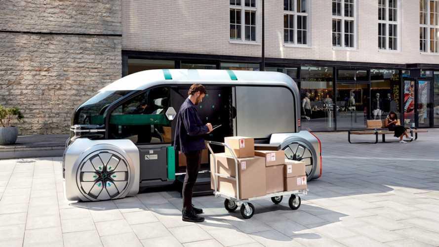 Renault Pro+ con i van a idrogeno al Solutrans di Lione