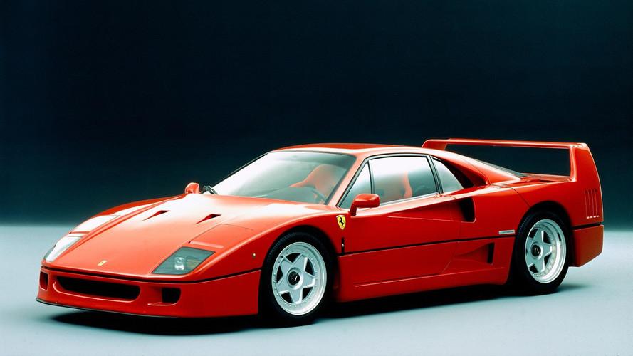 Supergalería: el Ferrari F40 cumple 30 años (200 fotos)