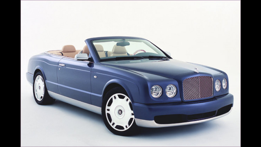 Exquisiter Brit-Aufschnitt: Bentley Arnage Drophead Coupé