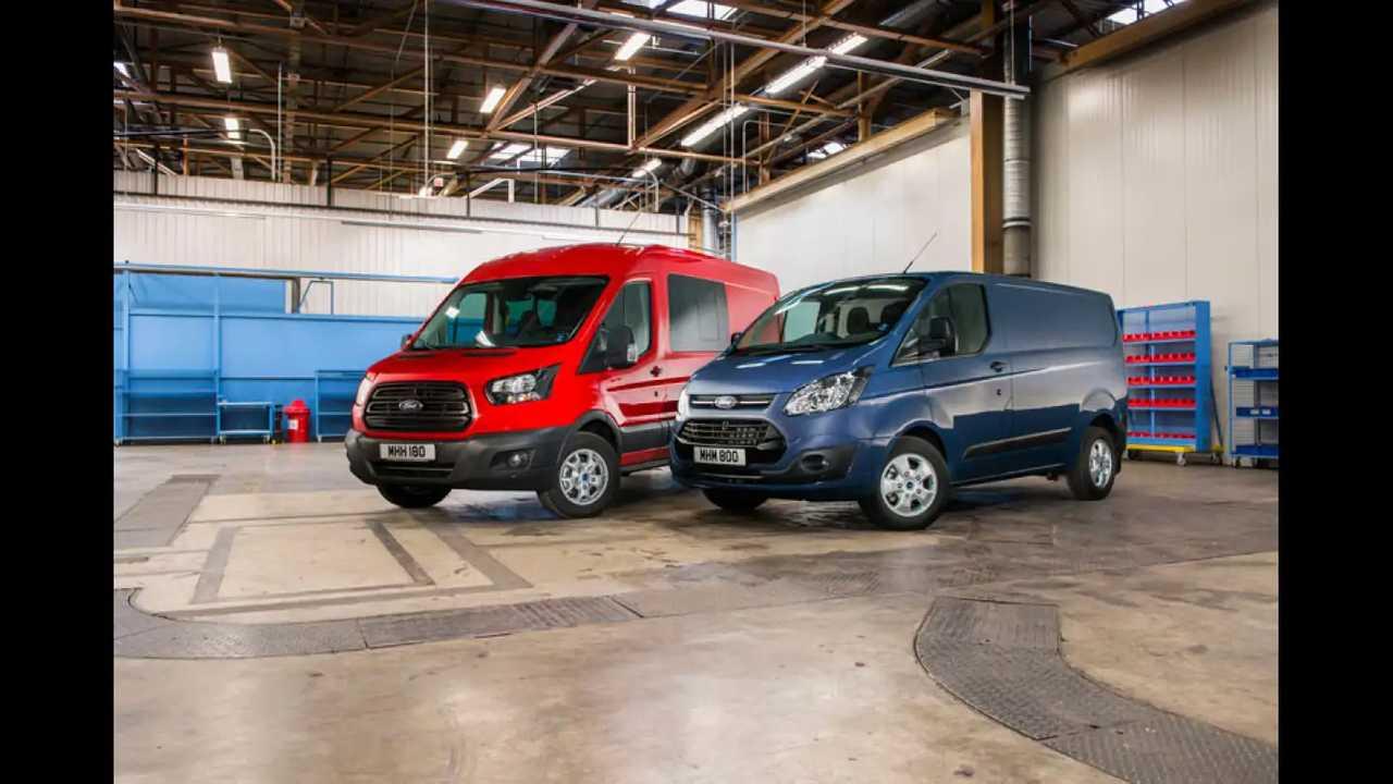 Nuovi Ford Transit e Transit Custom