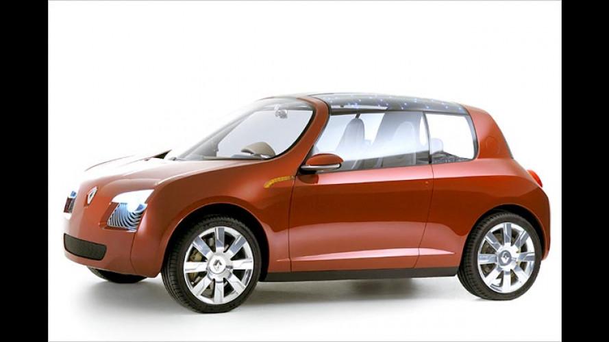 Renault zeigt City-Car: Platz für drei und viel Gepäck