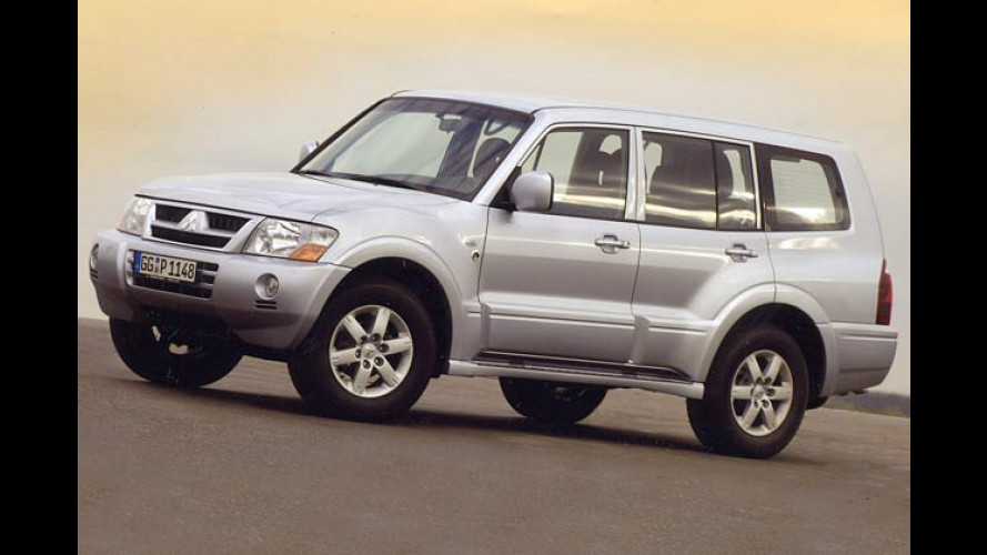 Mitsubishi Pajero Liberty: Edle Sonderauflage des Offroaders