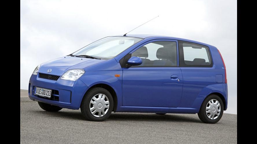 City-Floh in Blau: Sondermodell Daihatsu Cuore blu