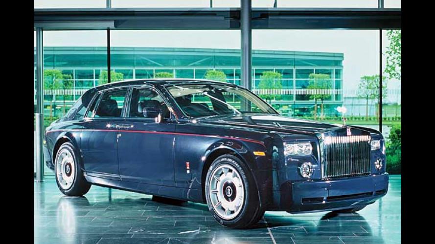 Sondermodell feiert erstes Treffen von Rolls und Royce