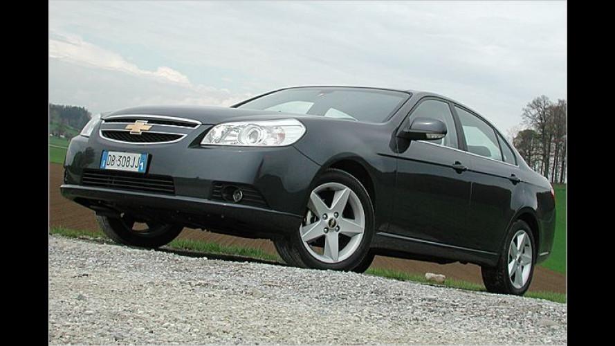 Neuer Chevrolet Epica: Richtig schicker Chevy