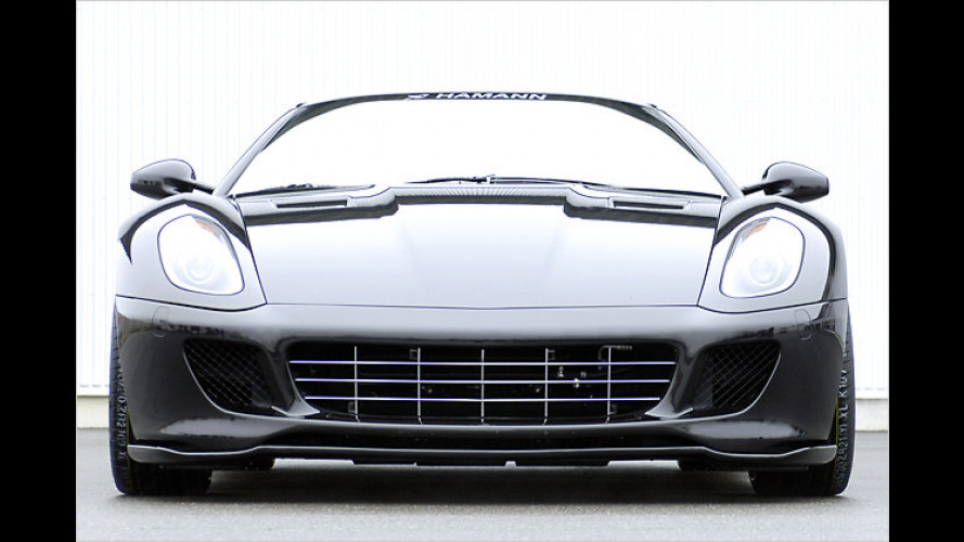 Hamann macht den Ferrai 599 GTB zum König der Straße