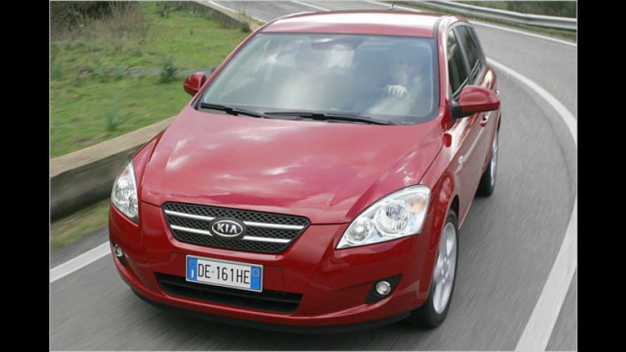 Kia Cee'd: Überraschender Name für überraschendes Auto