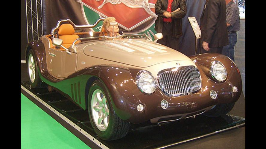 Der Name ist Programm: ,6 Liter Roadster