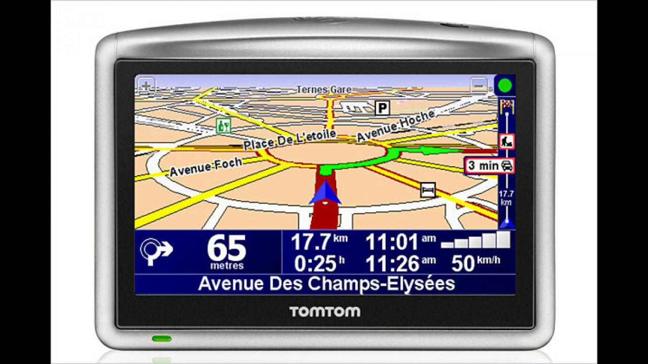 TomTom One XL: Größeres Display und TMC