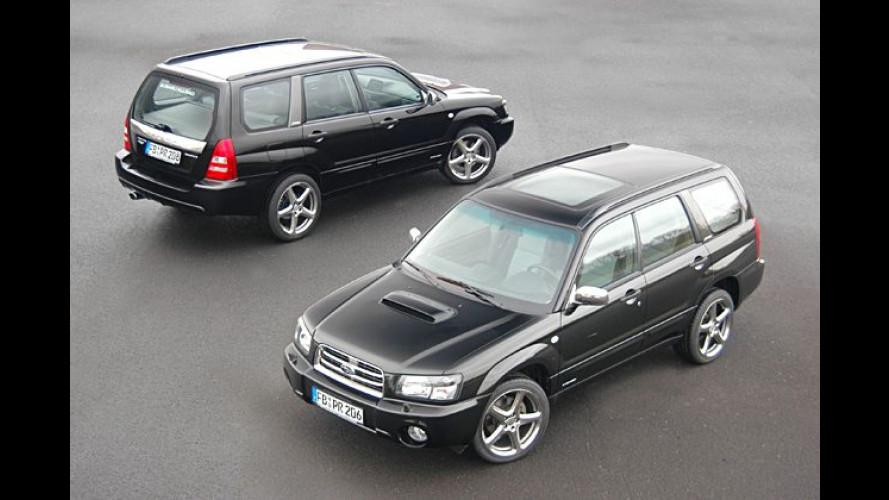 Subaru Forester Rinspeed: Veredelter Offroader im Handel