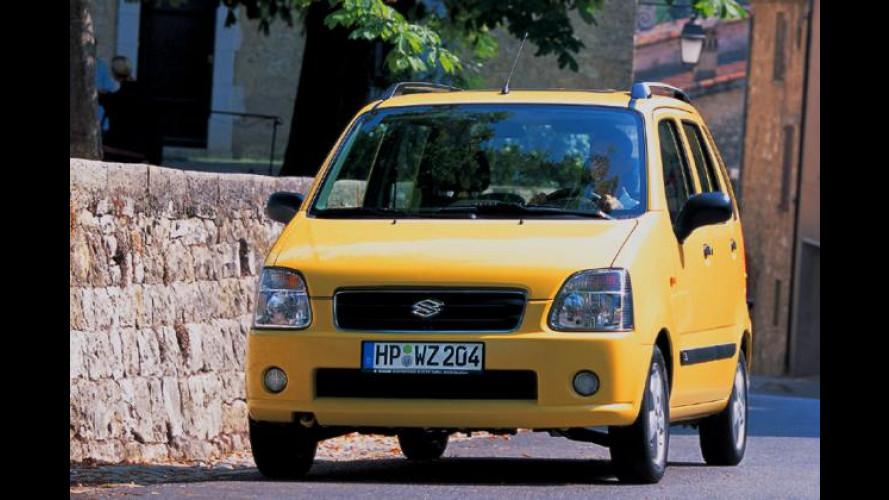 Suzuki Wagon R+: Micro-Van als Benziner mit 18 PS mehr