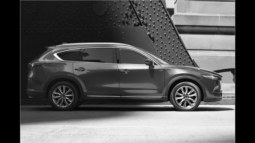 Mazda CX-8: SUV mit Format