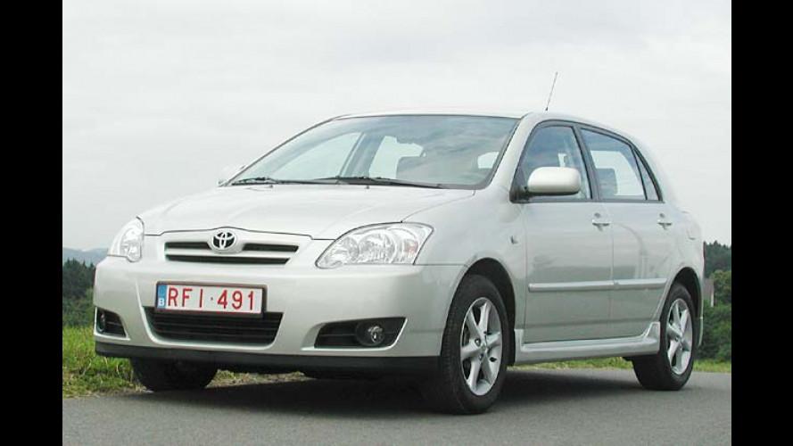 Toyota Corolla (2004): Frisch frisiert ins neue Modelljahr