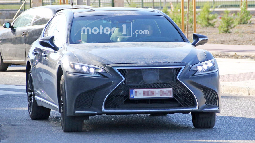 Lexus LS Spied Looking Sporty, Possibly Preparing For More Power
