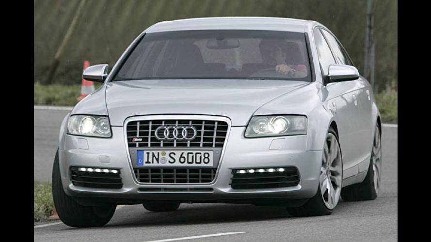Audi S6: Ultrastarker Sportsmann im edlen Anzug