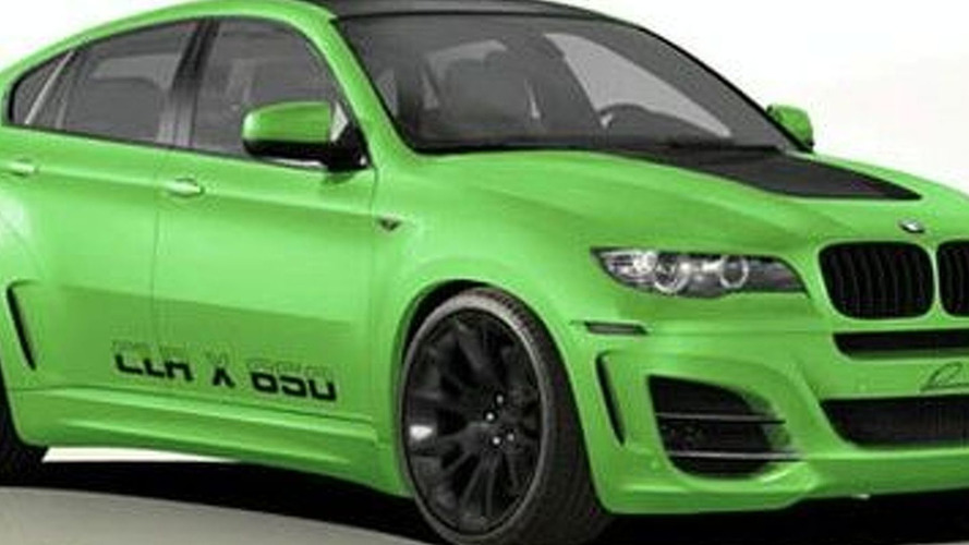 Lumma Teases CLR X650 BMW X6