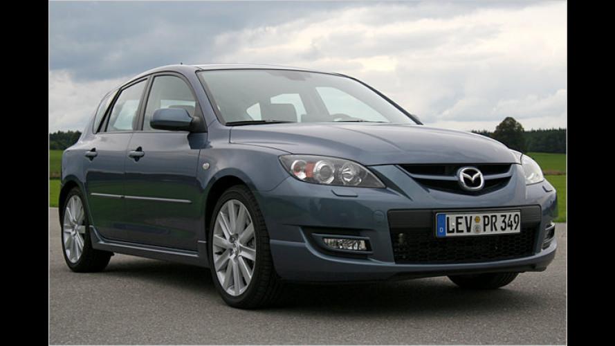 Sturm-Front: Mazda 3 MPS mit 260 PS an der Vorderachse