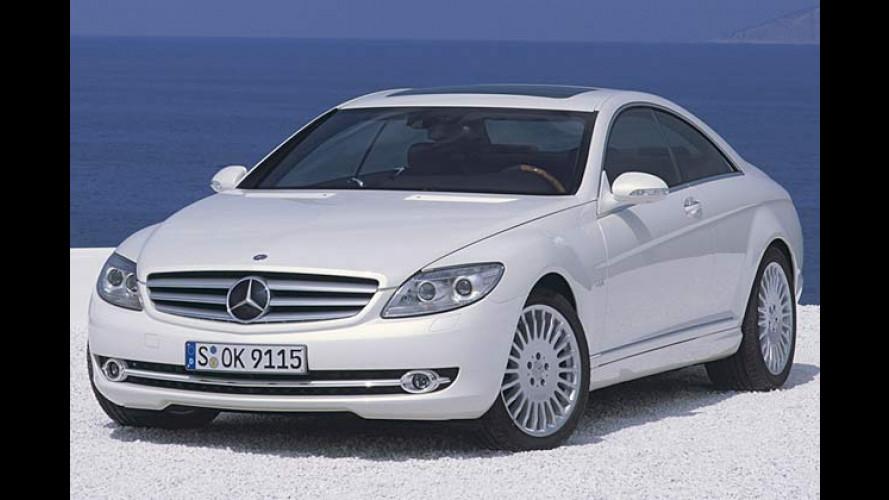 Mercedes CL-Klasse: Neuauflage des Luxus-Coupés