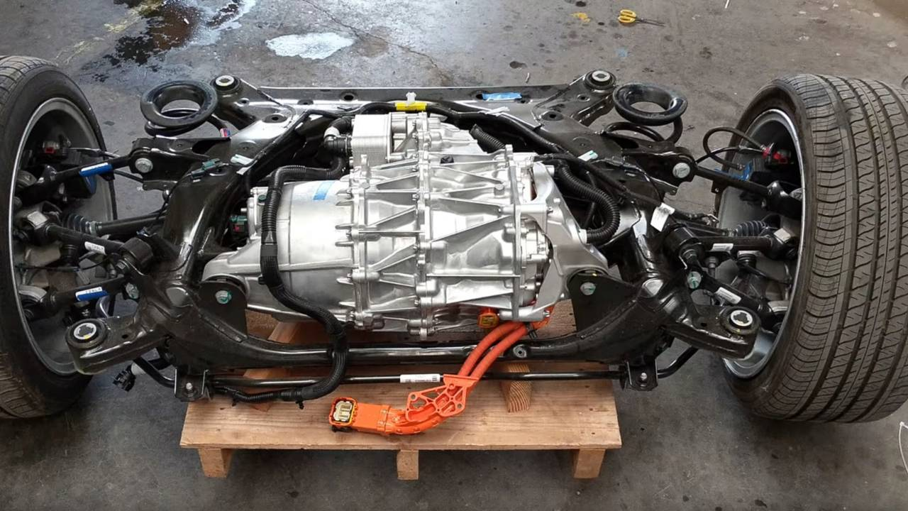 Tesla Model 3 Drive Unit | Motor1 com Photos