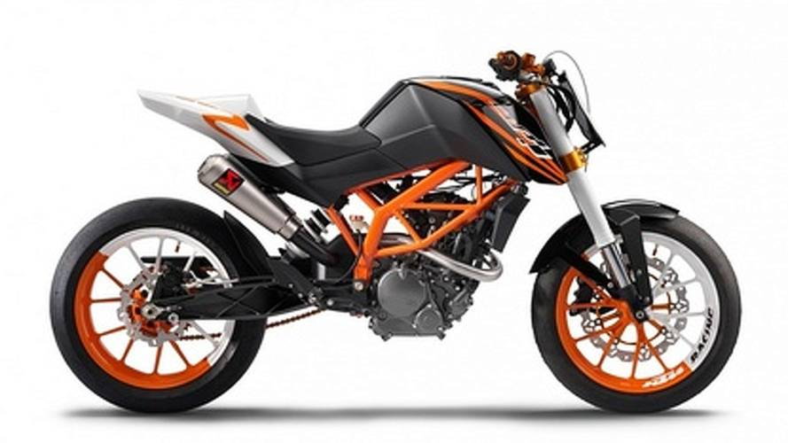 KTM 125 Stunt and Race concepts preview learner legal performance