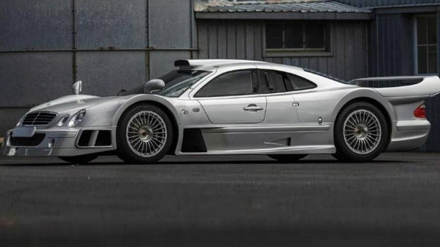 Mercedes CLK GTR Estimated To Bring Up To $5.25 Million At Auction