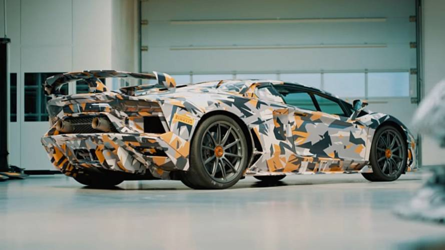 Aventador SVJ Teases Its Aero; Nurburgring Lap Time Possibly Leaked