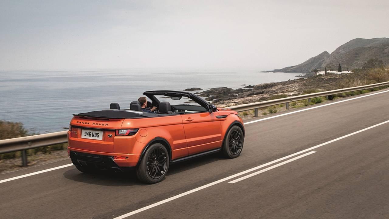 3. 2015- Range Rover Evoque Convertible