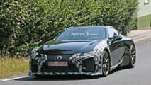 Lexus LC F foto spia