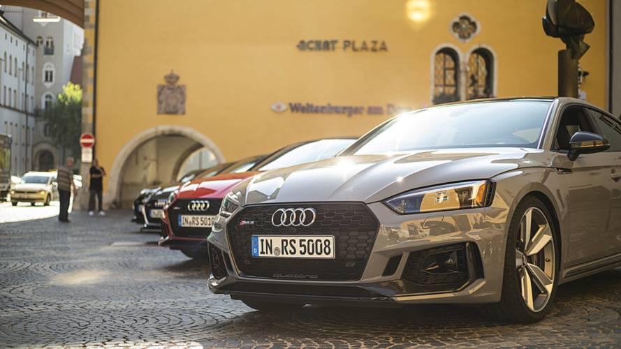 Audi'nin yeni amblemi ortaya çıktı