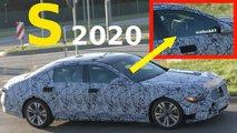 2019 Mercedes S-Serisi Sedan Casus Fotoğraflar