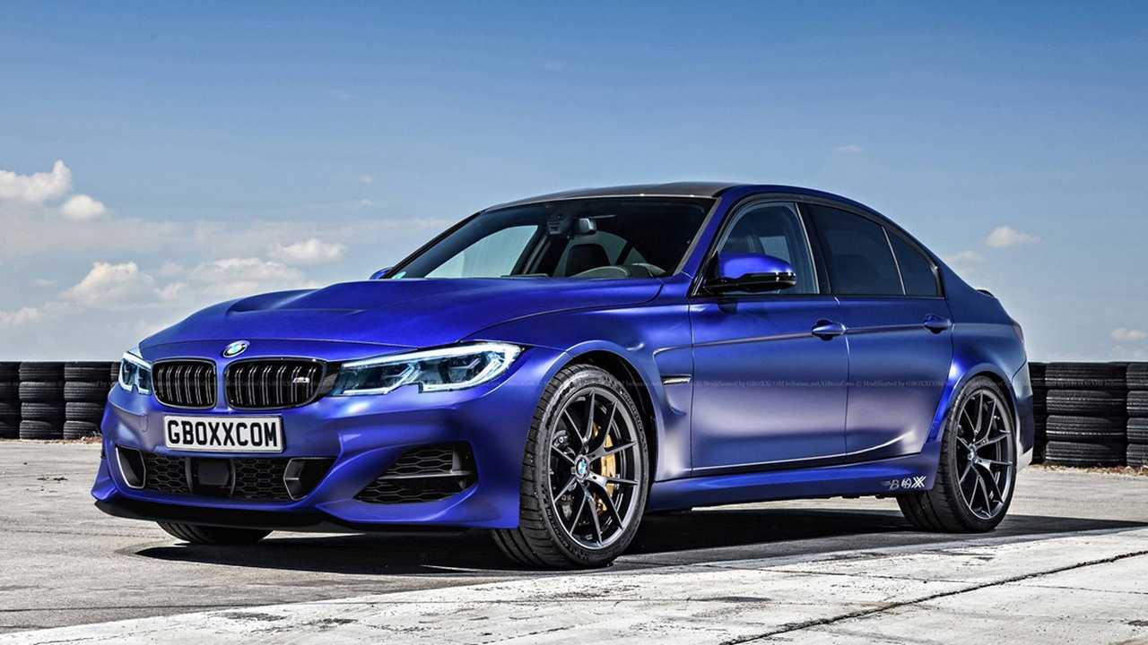 Render BMW M3 2020