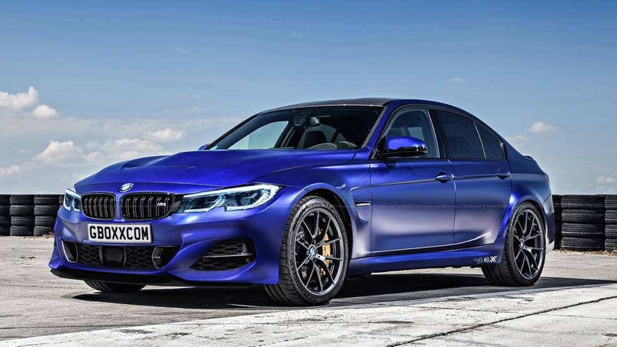 2020 BMW M3 fan render looks ready to rule all roads