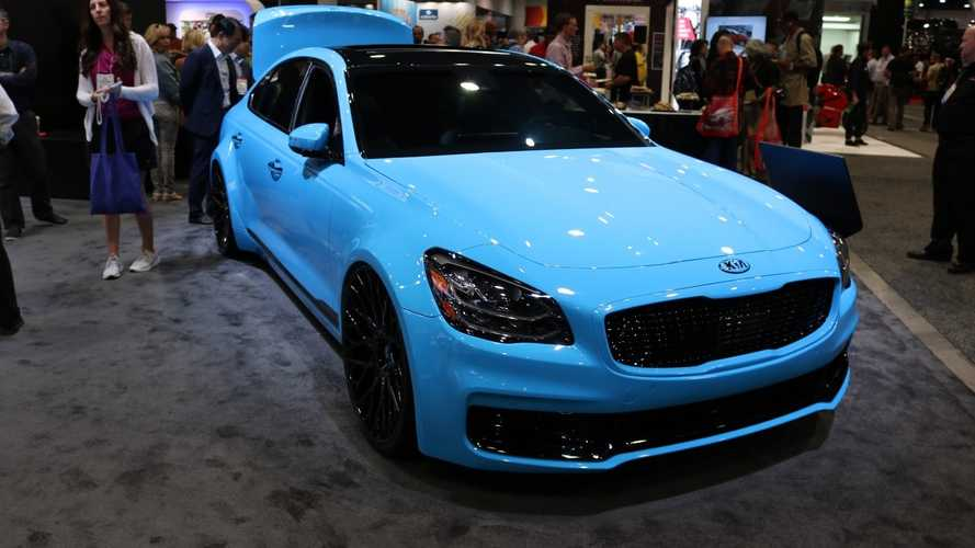 Custom Kia K900, Stinger, And Forte Models Invade SEMA [UPDATE]
