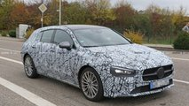 2019 Mercedes CLA Shooting Brake spy photos