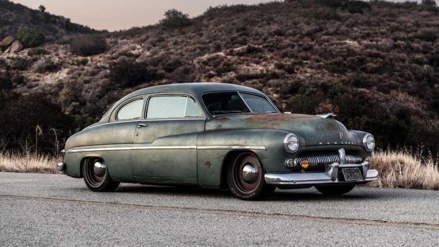 Tesla-powered 1949 Mercury Lead-Sled EV revealed for SEMA