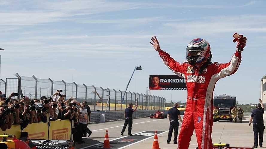 Formel 1 USA 2018: Räikkönen gewinnt, WM-Entscheidung vertagt!