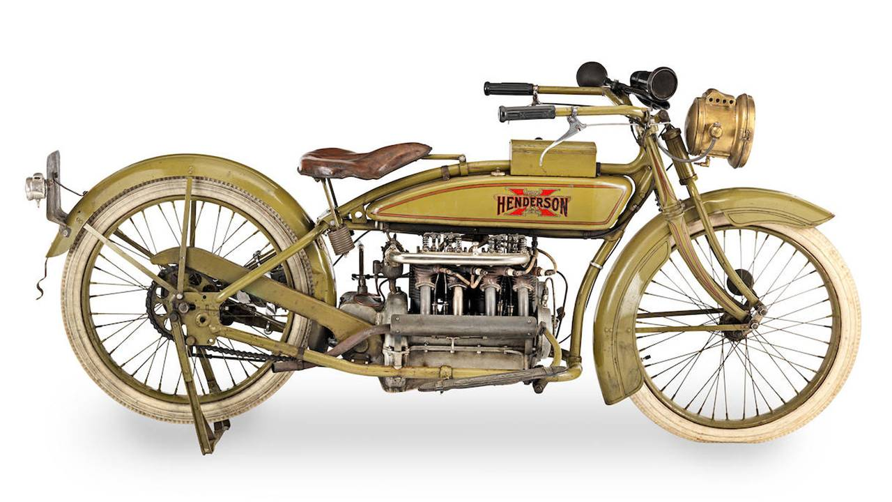 1919 Henderson 1,147cc Model 2 Z Four