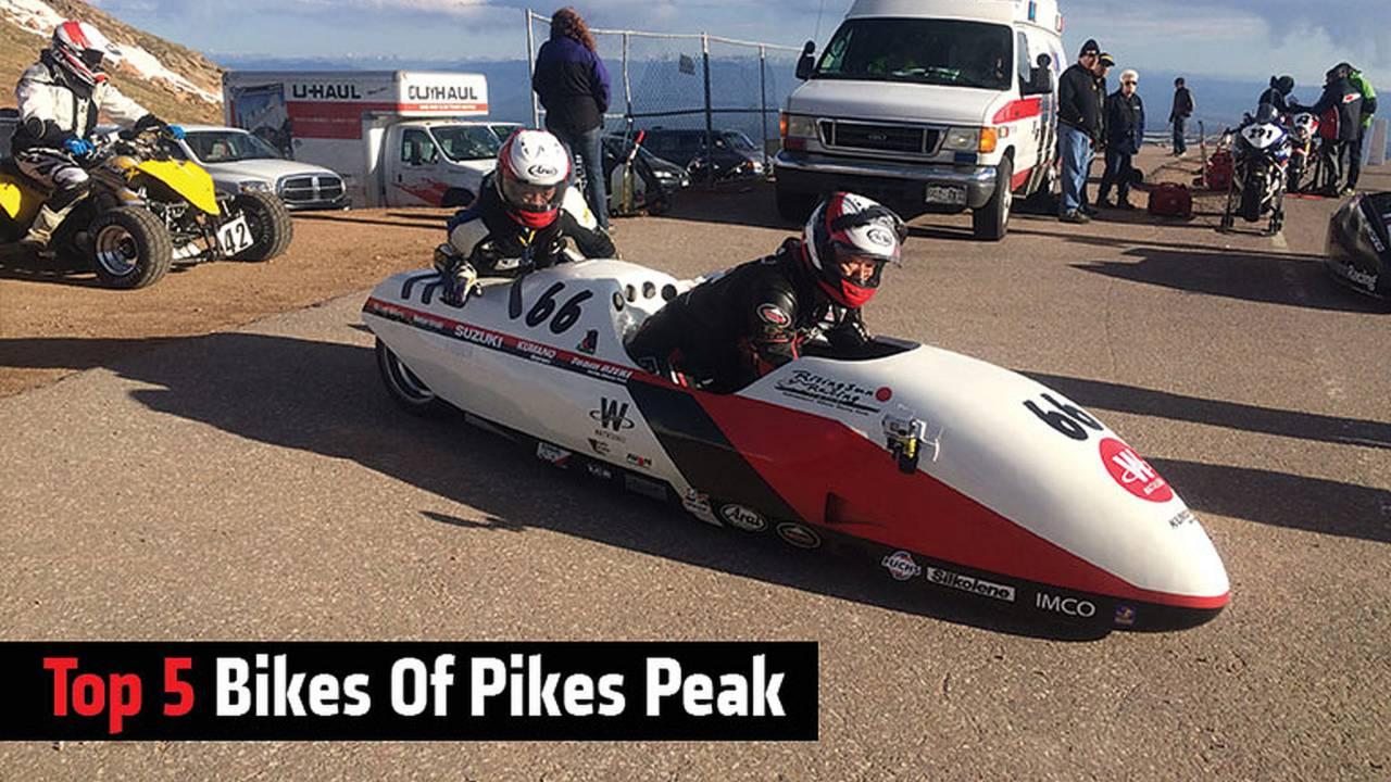 Top 5 Bikes Of Pikes Peak