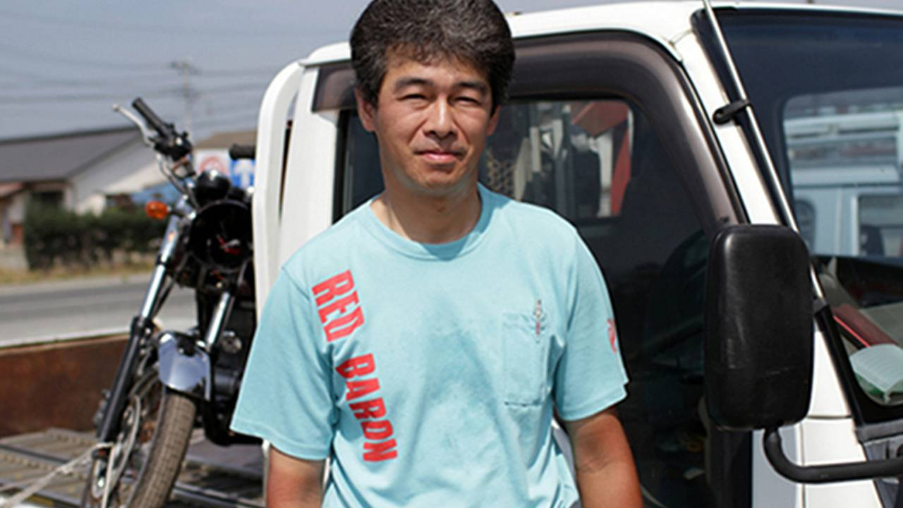 Kids of speed: riding through Fukushima